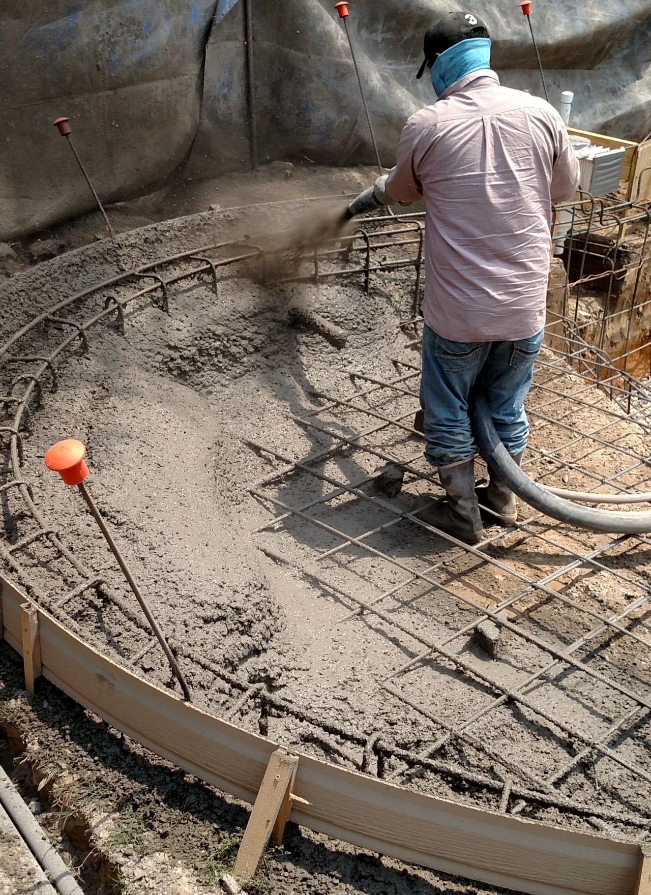 Shotcrete versus Gunite